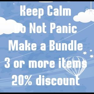 Other - 20% off on items marked $10 or more in bundle of 3